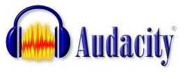 audacity -- sound editor